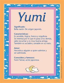 Nombre Yumi