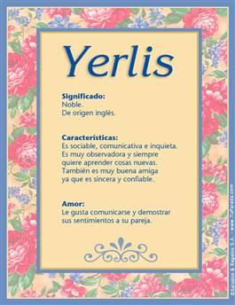 Nombre Yerlis