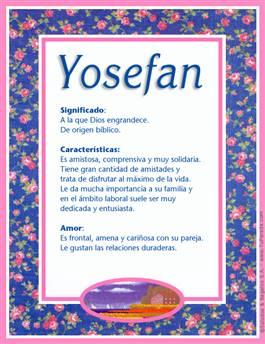 Nombre Yosefan