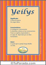 Yeilys