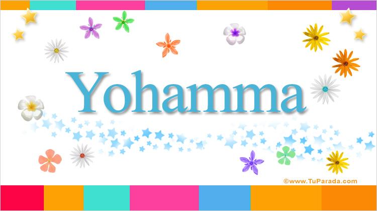 Yohamma, imagen de Yohamma