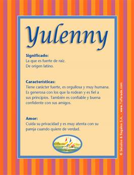 Nombre Yulenny