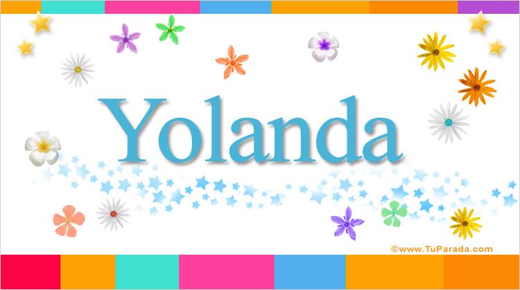 Yolanda, imagen de Yolanda