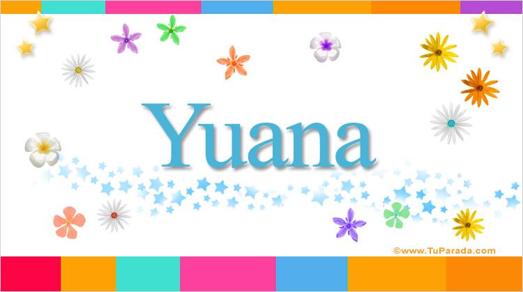 Yuana, imagen de Yuana