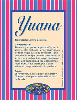 Nombre Yuana