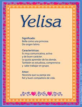 Nombre Yelisa