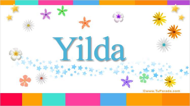 Yilda, imagen de Yilda