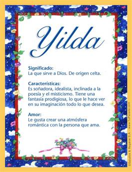 Nombre Yilda