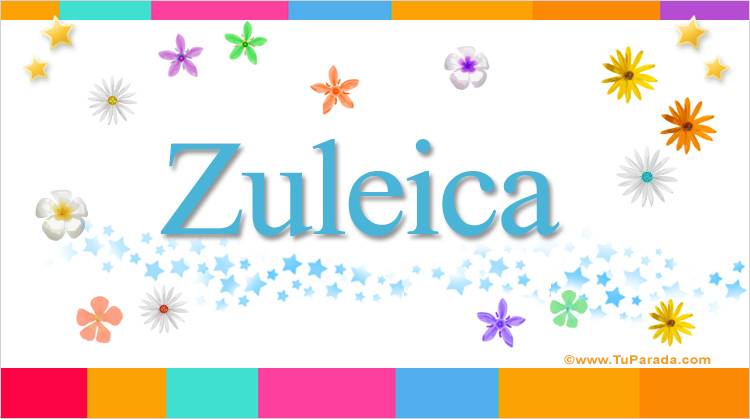 Zuleica, imagen de Zuleica