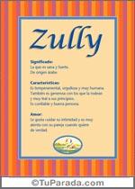 Nombre Zully