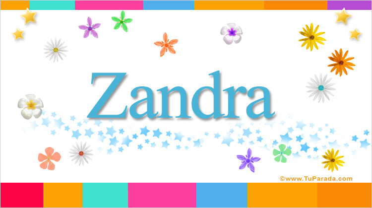 Zandra, imagen de Zandra
