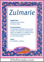 Zulmarie