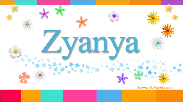 Zyanya, imagen de Zyanya