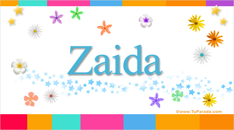 Zaida, imagen de Zaida