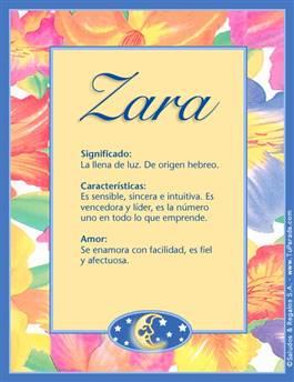 Nombre Zara