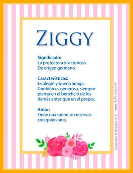 Nombre Ziggy