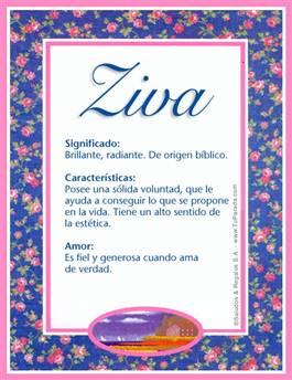 Nombre Ziva