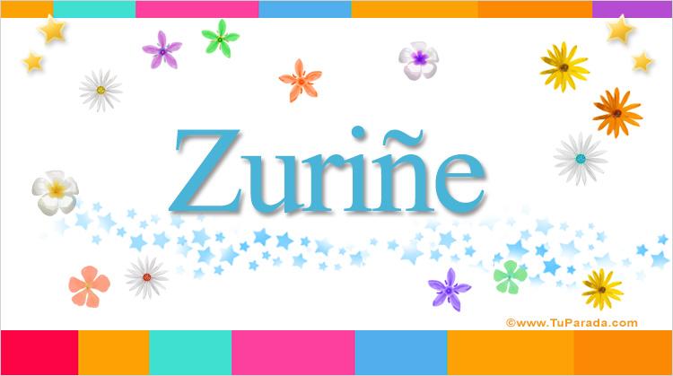 Zuriñe, imagen de Zuriñe