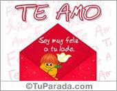 Sobre especial de te amo