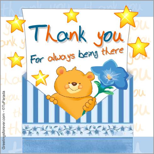 Ecard - Thank you