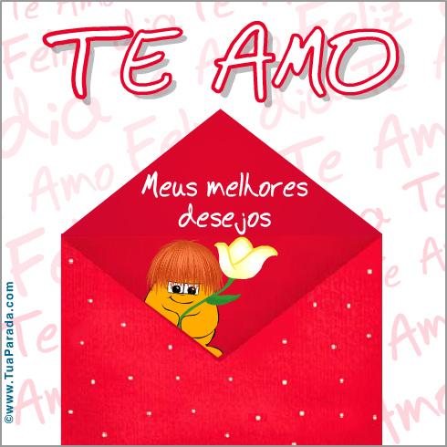Cartão - Te amo