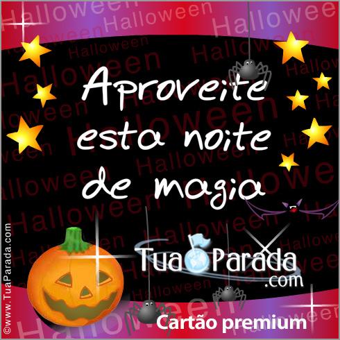 Cartão - Halloween