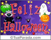 Cartão expansível: Halloween