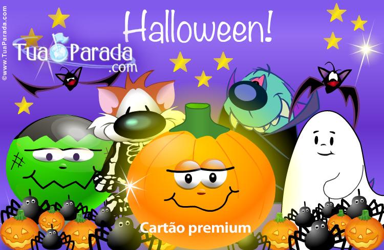 Cartão - Cartão Halloween