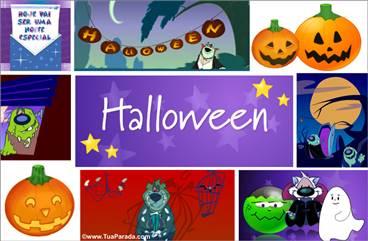 Cartões postais: Halloween
