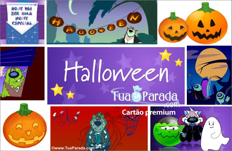 Cartão - Halloween Noite