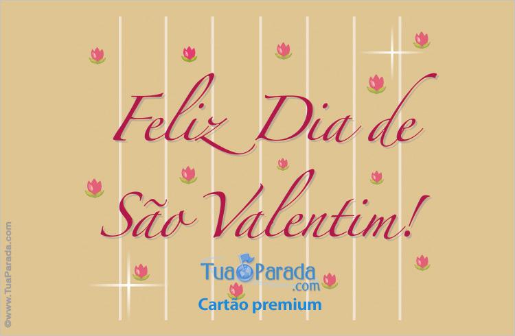 Cartão - São Valentim