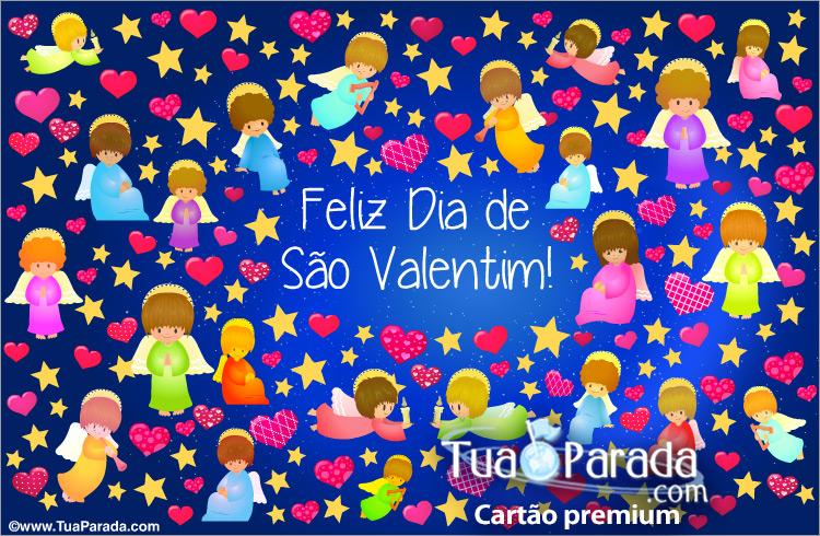 Cartão - Cartão do Valentim