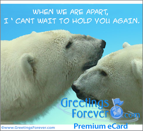 Ecard - While we are apart...