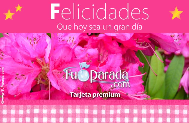 Tarjeta - Tarjeta de flores rosas