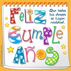 Feliz Cumpleaños soleado