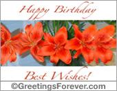 Best wishes ecard