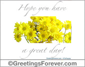 Hope you have a great day!