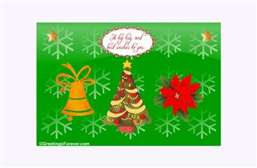Create your Christmas eCard!