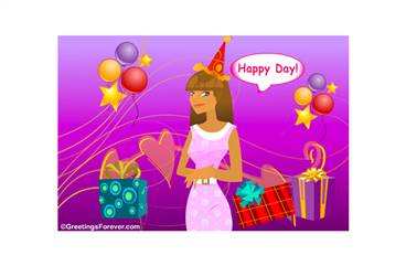 eCard for women to create original designs