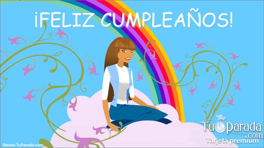 Tarjeta - Feliz Cumpleaños con sorpresa