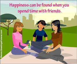 Sophia and friends ecard