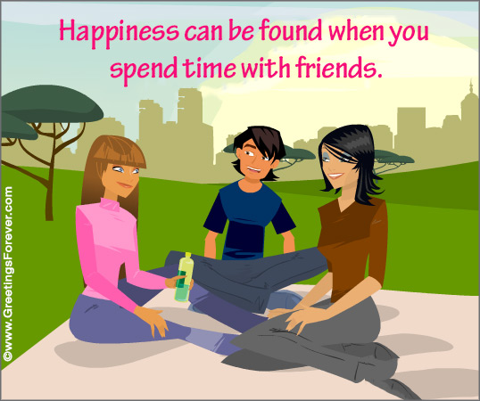 Ecard - Happiness can be found...