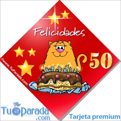 50 Años Cumpleaños Para Cada Edad Tarjetas
