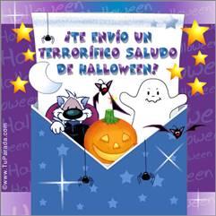 Saludo de Halloween
