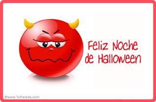 Diablito de Halloween