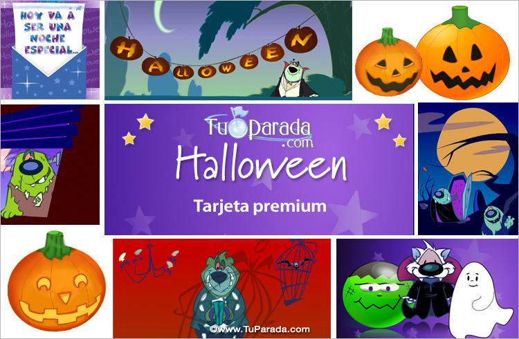 Tarjeta - Ecard de Halloween