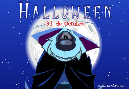 Tarjeta - Vampiro Halloween