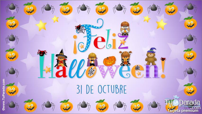 Tarjeta - Tarjeta de feliz Halloween