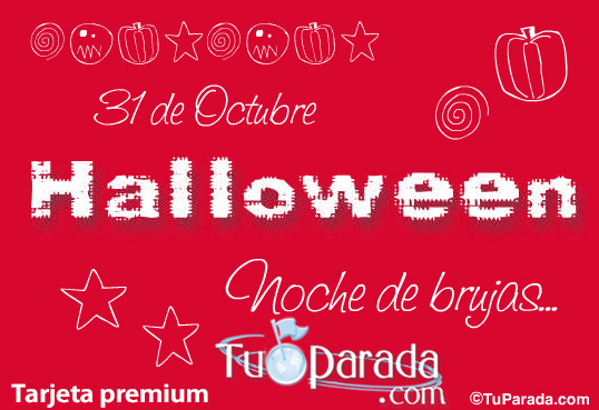 Tarjeta - Halloween