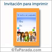 Invitación grupal - Todos los dispositivos.